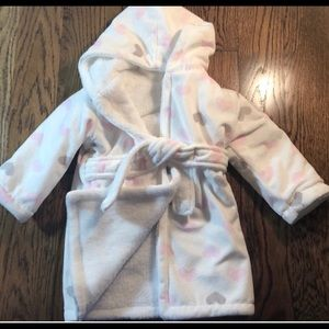 Other - Super soft plush baby robe 12-24 mo! Worn twice.